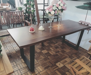 COP Walnut Dining Table 1800 & 2000