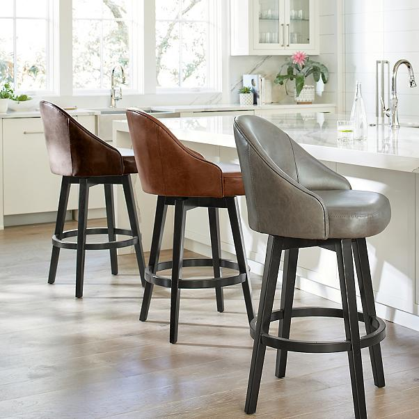 EMMA Counter & Bar swivel stool
